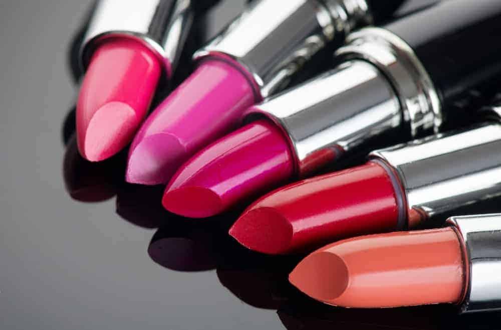 Les différents types de rouges à lèvres